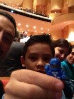 Arcenio attended Florencia En El Amazonas - Saturday on Nov 14th 2015 via VetTix