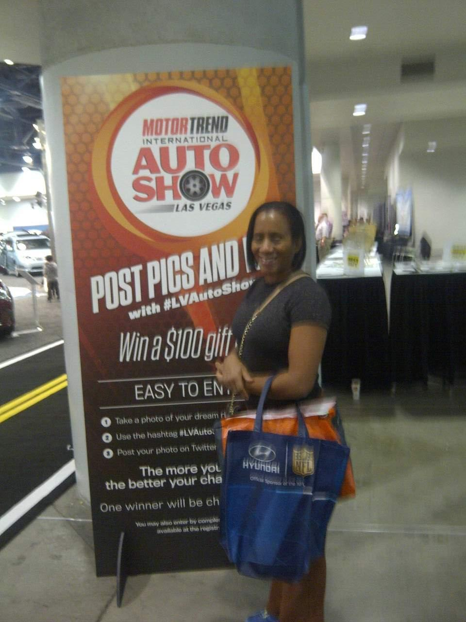 Thank you messages to veteran tickets foundation donors for Motor trend international auto show las vegas