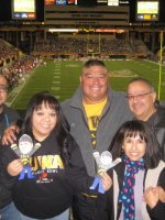 angel attended 2011 Insight Bowl...Iowa Hawkeyes vs Oklahoma Sooners 12/30 on Dec 30th 2011 via VetTix