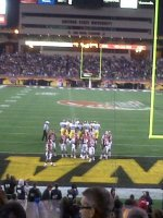 Jason Cyrus attended 2011 Insight Bowl...Iowa Hawkeyes vs Oklahoma Sooners 12/30 on Dec 30th 2011 via VetTix