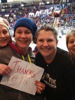 Tammy attended Reading Royals vs. Elmira Jackals - ECHL on Dec 19th 2015 via VetTix