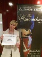 James attended Nutcracker Performed by California Ballet Company - Evening Performance on Dec 19th 2015 via VetTix