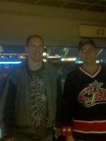 SGT Burke attended Columbus Blue Jackets vs Minnesota Wild (NHL) 2/07 on Feb 7th 2012 via VetTix