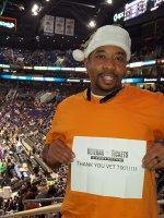 Nakia attended Phoenix Suns vs. New Orleans Pelicans - NBA on Dec 18th 2015 via VetTix