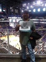 Jesus attended Phoenix Suns vs. New Orleans Pelicans - NBA on Dec 18th 2015 via VetTix