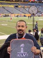 Juan Haro attended 2012 Super Bowl XLVI...Patriots vs Giants (NFL) 2/05 on Feb 5th 2012 via VetTix