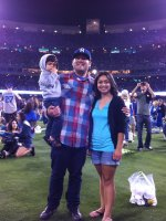 Joseph attended Los Angeles Dodgers vs Cincinnati Reds...MLB on Jul 4th 2012 via VetTix