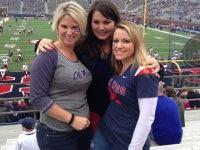 Lisa attended Ole Miss Rebels vs University of Troy - NCAA Football on Nov 16th 2013 via VetTix