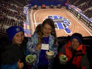 Megan attended Monster Jam Triple Threat Series - Motorsports/racing on Jan 4th 2019 via VetTix