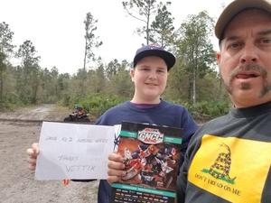 Frank attended 2018 GNCC Racing National Championship - Rd 2 - Moose Racing Wild Boar on Mar 10th 2018 via VetTix