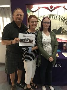 Leonard attended Little Woman Presented by Valley Youth Theatre on Apr 20th 2018 via VetTix