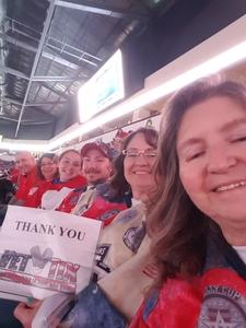 Alice attended Allen Americans vs. Idaho Steel Heads - First Round Playoffs - ECHL on Apr 20th 2018 via VetTix