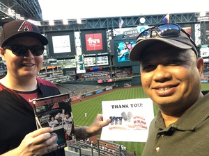 Click To Read More Feedback from Arizona Diamondbacks vs. San Francisco Giants