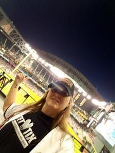 Coleen attended Arizona Diamondbacks vs. San Francisco Giants on Apr 17th 2018 via VetTix