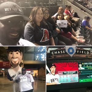 John Graves attended Arizona Diamondbacks vs. San Francisco Giants on Apr 18th 2018 via VetTix