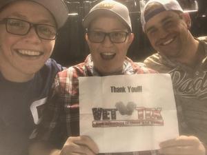 Randal attended Arizona Diamondbacks vs. San Diego Padres - MLB on Apr 20th 2018 via VetTix