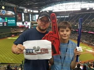 John attended Arizona Diamondbacks vs. San Diego Padres - MLB on Apr 21st 2018 via VetTix