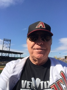 Bob attended Arizona Diamondbacks vs. San Diego Padres - MLB on Apr 21st 2018 via VetTix