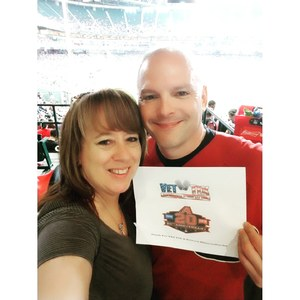 Harry Neuhaus attended Arizona Diamondbacks vs. San Diego Padres - MLB on Apr 22nd 2018 via VetTix