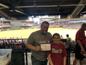Michael attended Arizona Diamondbacks vs. San Diego Padres - MLB on Apr 22nd 2018 via VetTix