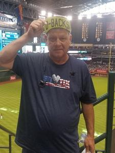 Jerry attended Arizona Diamondbacks vs. San Diego Padres - MLB on Apr 22nd 2018 via VetTix