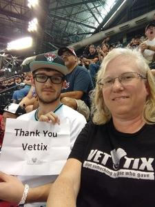 Kristina attended Arizona Diamondbacks vs. San Diego Padres - MLB on Apr 22nd 2018 via VetTix