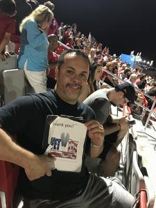 Jose Chavez Sr attended Phoenix Rising FC vs. Swope Park Rangers - USL on Apr 21st 2018 via VetTix