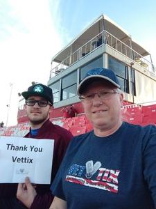 Kristina attended Phoenix Rising FC vs. Swope Park Rangers - USL on Apr 21st 2018 via VetTix