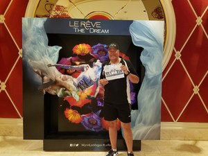James attended Le Reve the Dream at the Wynn Theatre on Apr 15th 2018 via VetTix