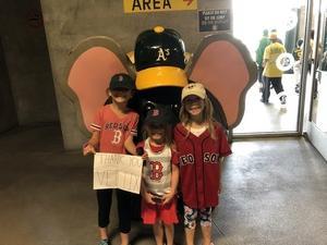 Jack attended Oakland Athletics vs. Boston Red Sox - MLB on Apr 22nd 2018 via VetTix