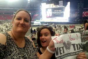 janice attended Taylor Swift Reputation Stadium Tour on May 8th 2018 via VetTix