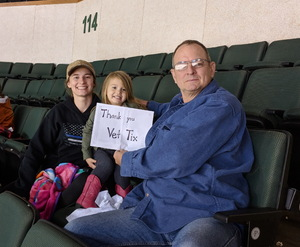 Chris attended Texas Stars vs. Ontario Reign - First Round Playoffs - AHL on Apr 20th 2018 via VetTix