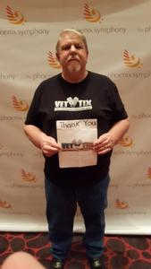 jerry attended Sgt. Pepper's 50th Anniversary With Classical Mystery Tour on Apr 21st 2018 via VetTix