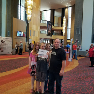 Bruce attended Sgt. Pepper's 50th Anniversary With Classical Mystery Tour on Apr 22nd 2018 via VetTix