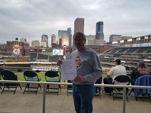gene attended Minnesota Twins vs. Toronto Blue Jays - MLB on May 1st 2018 via VetTix