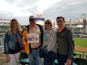 Gunnar attended Minnesota Twins vs. Toronto Blue Jays - MLB on May 1st 2018 via VetTix