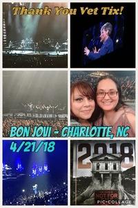 Ken attended Bon Jovi - This House is not for Sale Tour on Apr 21st 2018 via VetTix