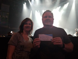 Shane attended Brad Paisley - Weekend Warrior World Tour With Dustin Lynch, Chase Bryant and Lindsay Ell on Apr 26th 2018 via VetTix