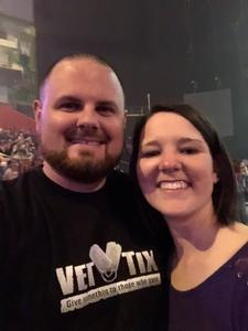 Jeremey attended Brad Paisley - Weekend Warrior World Tour With Dustin Lynch, Chase Bryant and Lindsay Ell on Apr 26th 2018 via VetTix