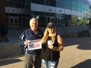 James attended Brad Paisley - Weekend Warrior World Tour With Dustin Lynch, Chase Bryant and Lindsay Ell on Apr 26th 2018 via VetTix