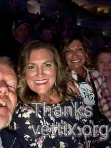 George attended Brad Paisley - Weekend Warrior World Tour With Dustin Lynch, Chase Bryant and Lindsay Ell on Apr 26th 2018 via VetTix