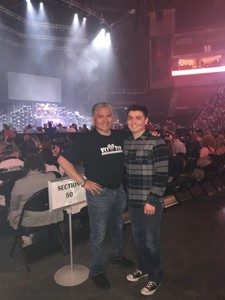 Gil attended Brad Paisley - Weekend Warrior World Tour With Dustin Lynch, Chase Bryant and Lindsay Ell on Apr 26th 2018 via VetTix