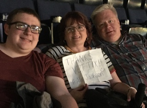 Hodgins Family attended Alan Jackson's Honky Tonk Highway Tour on Apr 28th 2018 via VetTix