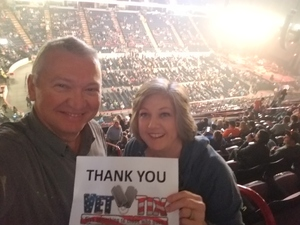 Kevin attended Alan Jackson's Honky Tonk Highway Tour on Apr 28th 2018 via VetTix