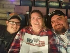 Lee attended Alan Jackson's Honky Tonk Highway Tour on Apr 28th 2018 via VetTix
