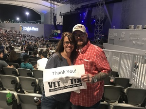 James attended Skillet + for King and Country - Joy Unleashed Tour 2018 on May 4th 2018 via VetTix