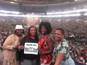Vanessa attended Wmmr 50th Birthday Concert: Bon Jovi This House is not for Sale Tour on May 3rd 2018 via VetTix