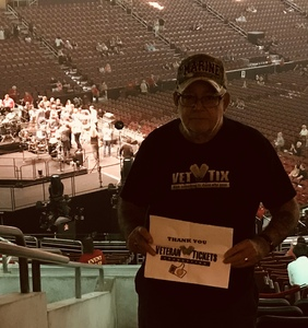 Robert attended Wmmr 50th Birthday Concert: Bon Jovi This House is not for Sale Tour on May 3rd 2018 via VetTix