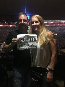 CHRISTOPHER attended Wmmr 50th Birthday Concert: Bon Jovi This House is not for Sale Tour on May 3rd 2018 via VetTix