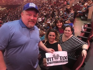 Philip attended Wmmr 50th Birthday Concert: Bon Jovi This House is not for Sale Tour on May 3rd 2018 via VetTix